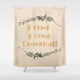 O Come, O Come, Emmanuel Shower Curtain