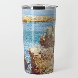 Childe Hassam Coast Scene, Isles of Shoals Travel Mug