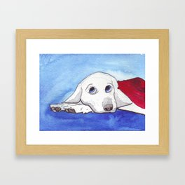 The Last Dog of a Dead Planet Framed Art Print