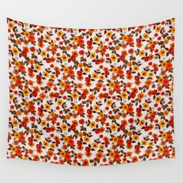 Cottage core 70s flowers, ditsy florals,  Wall Tapestry