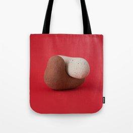 Bricks on Red #1 Tote Bag