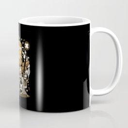 OWL DRUMMER Coffee Mug