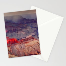 Red Sunrise at the Grand Canyon Stationery Cards