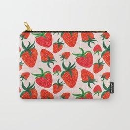 Strawberry Harvest Carry-All Pouch