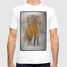foxy Mens Fitted Tee MEDIUM White