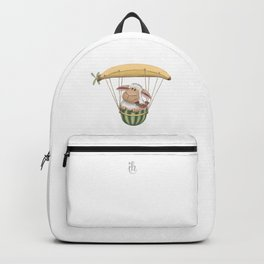 Fruity Sheep Flight - Banana Balloon Backpack