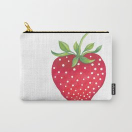 Sweet Strawberry Carry-All Pouch