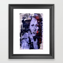 London Graffiti Framed Art Print