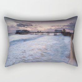 High Tide Cromer Seafront Rectangular Pillow