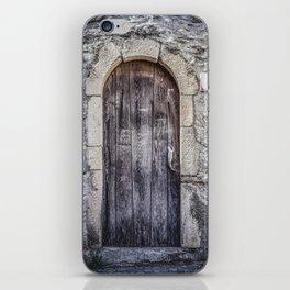 Old French Door iPhone Skin
