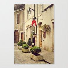 Le P'tit Paradis, Beaune France Storefront Canvas Print