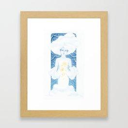 The Snow Maiden Framed Art Print