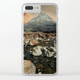 Valley of faires Clear iPhone Case