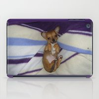 chihuahua iPad Cases featuring chihuahua by Lab&co