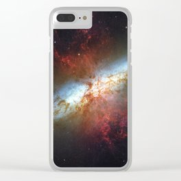 Messier 82 Clear iPhone Case