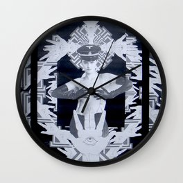 CHECKPOINT CHARLOTTE Wall Clock