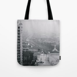 Gold Coast Highway In The Rain Tote Bag