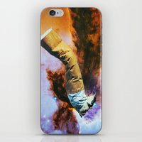 cigarette iPhone & iPod Skins featuring Cigarette by John Turck