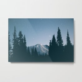 Feeling Blue Metal Print