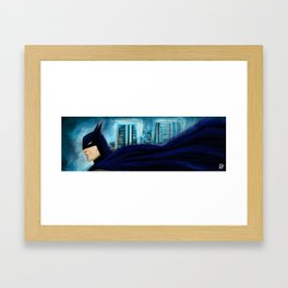 The Night Knight Framed Art Print
