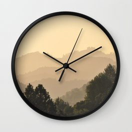 NAPA VALLEY Wall Clock