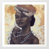 cancer Art Prints featuring Cancer by Artist Andrea