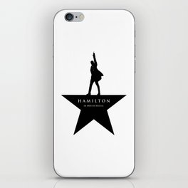 Hamilton iPhone Skin