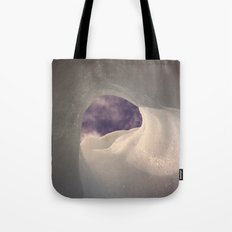 Hole in the ice Tote Bag