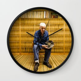 "Jos Bussard's 10"" Vinyl Wall Wall Clock"