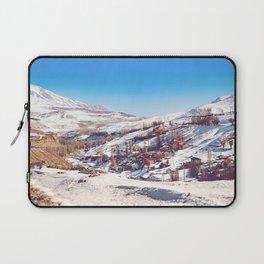 Snowy Village 1 Laptop Sleeve