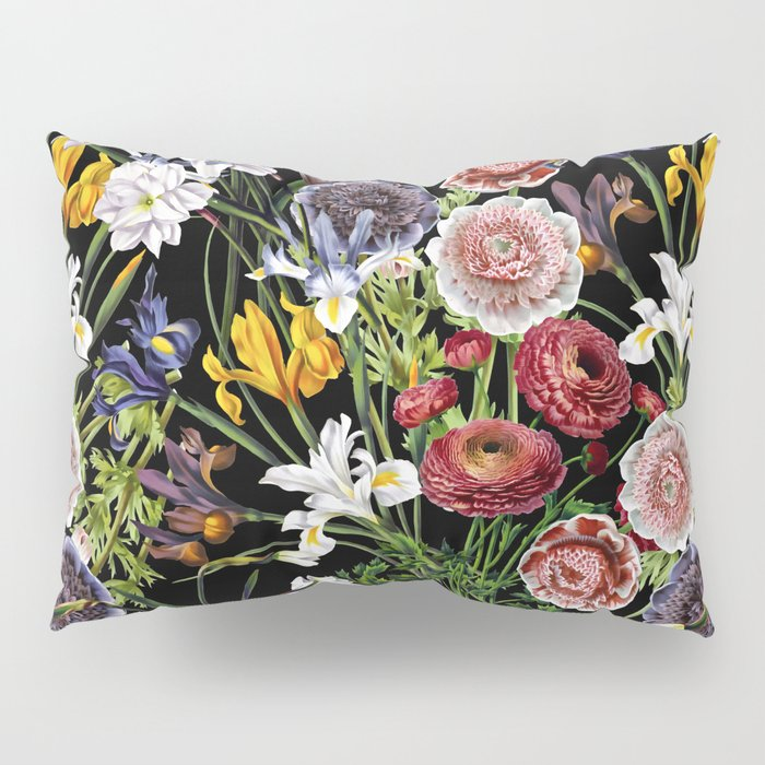 Vintage Shabby Chic Lush Baroque Flower Pattern Pillow Sham By Impressive Lush Decor Special Edition Pillows