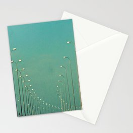 Road lamps Stationery Cards