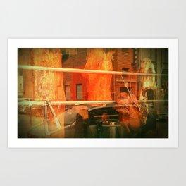 CHINATOWN. Art Print