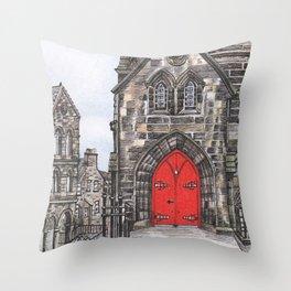 The Royal Mile Throw Pillow