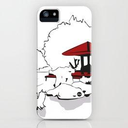 Jardin Japonais iPhone Case