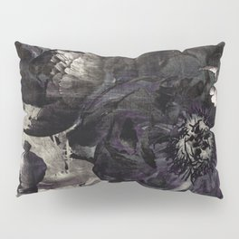 goth peony Pillow Sham
