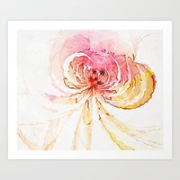 blossom Art Prints featuring Blossom by Amanda Moore