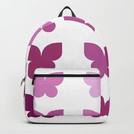 Butterflies in Purple Ombre Backpack