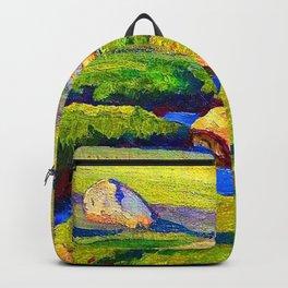 Maynard Dixon Glacial Meadow Backpack