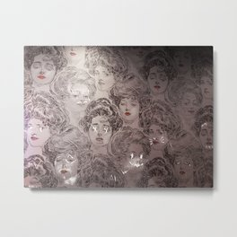 Wallpaper on Rainey Metal Print