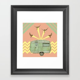 The best way to travel Framed Art Print