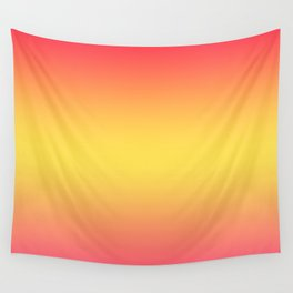 Ombre Anjo Raspberry Gold Gradient Wall Tapestry