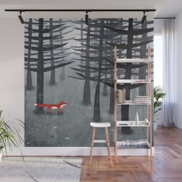The Fox and the Forest Wall Mural