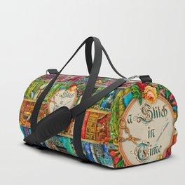 A Stitch In Time Duffle Bag