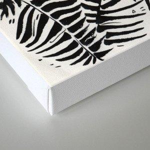 Palm Pattern Canvas Print
