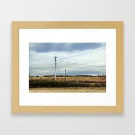 Arkansas Highway Framed Art Print
