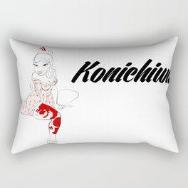 Pattysaurus Geisha Rectangular Pillow