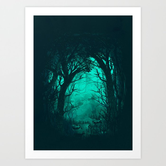 The Hiding Place Art Print