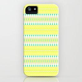 Lemon Lime iPhone Case