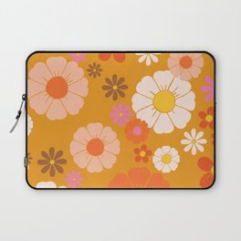 Groovy Mod 60's Flower Power Laptop Sleeve